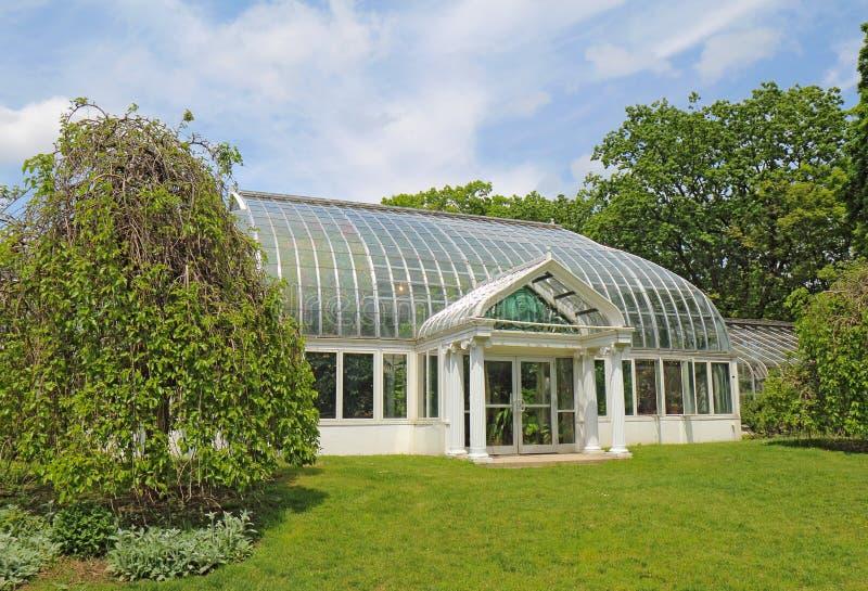 Lamberton音乐学院在高地植物的公园,罗切斯特, Ne 库存照片
