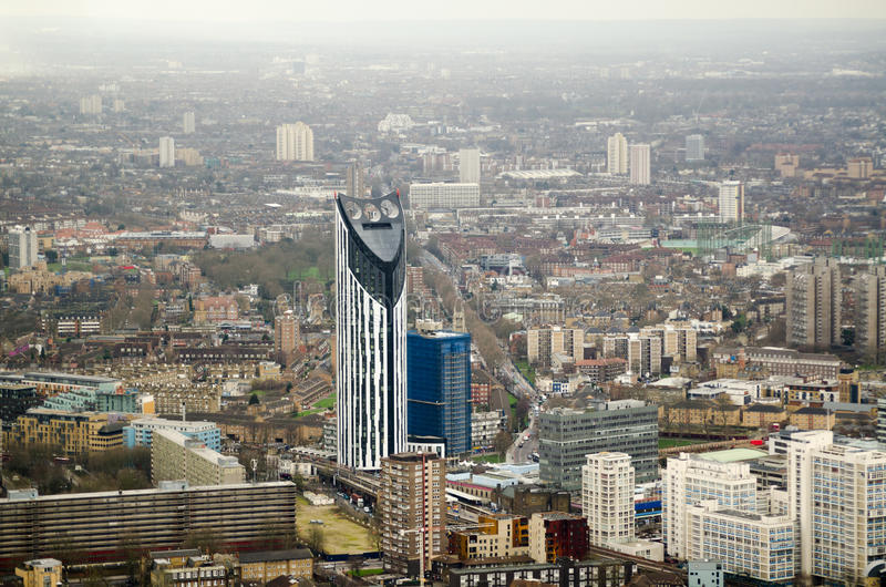 Lambeth with Strata Tower