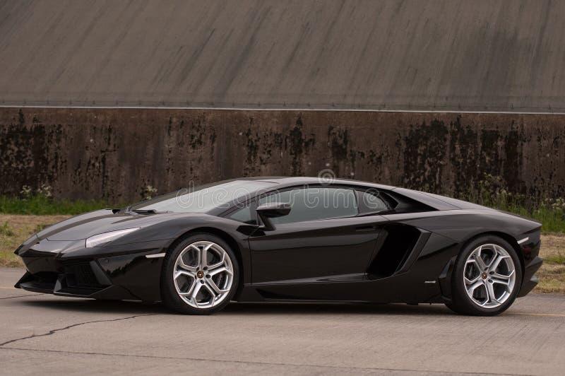 Lamboeghini Aventador royalty free stock image