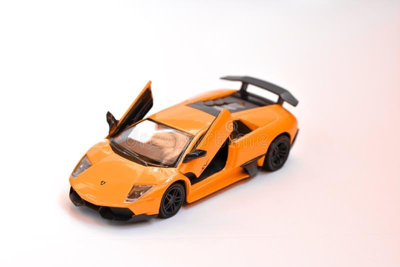 Lamborghini模型 库存照片