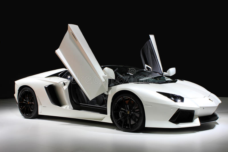Lamborghini汽车 库存照片