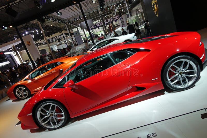 Lamborghini跑车 免版税库存图片