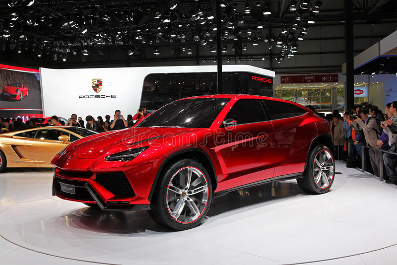 Lamborghini长角野牛 免版税库存图片