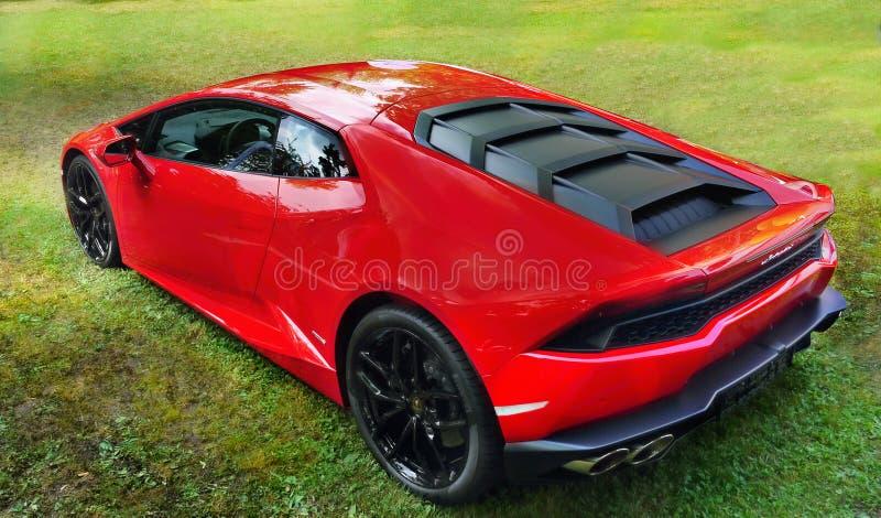Lamborghini,跑车,超级汽车 免版税库存图片