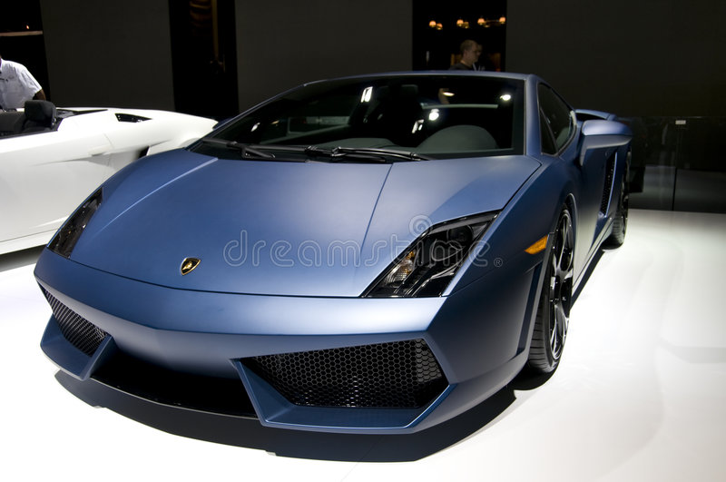 Lamborghini 2009 Gallardo lizenzfreie stockfotografie