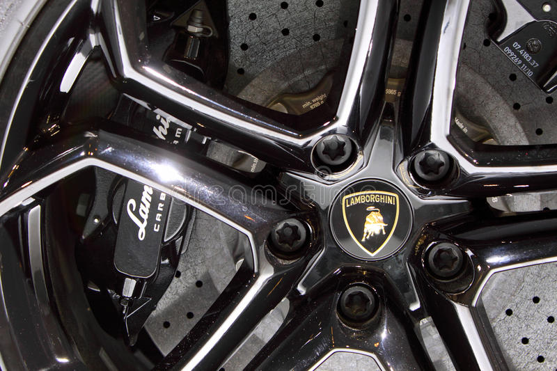 Lamborghini images libres de droits
