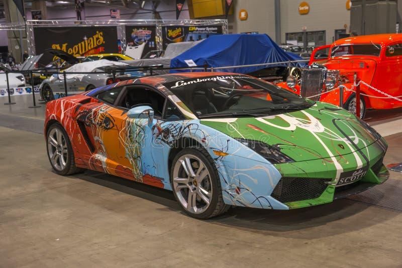 Lamborghini fotografia de stock royalty free