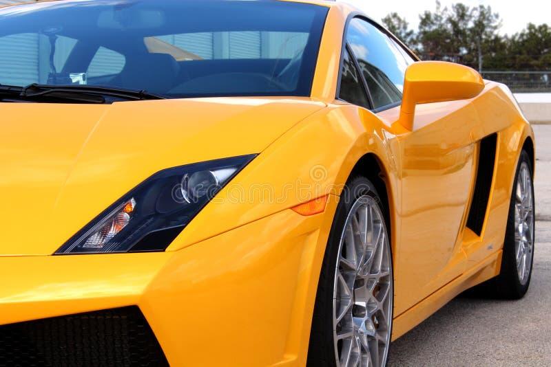 Lamborghini amarillo fotos de archivo libres de regalías