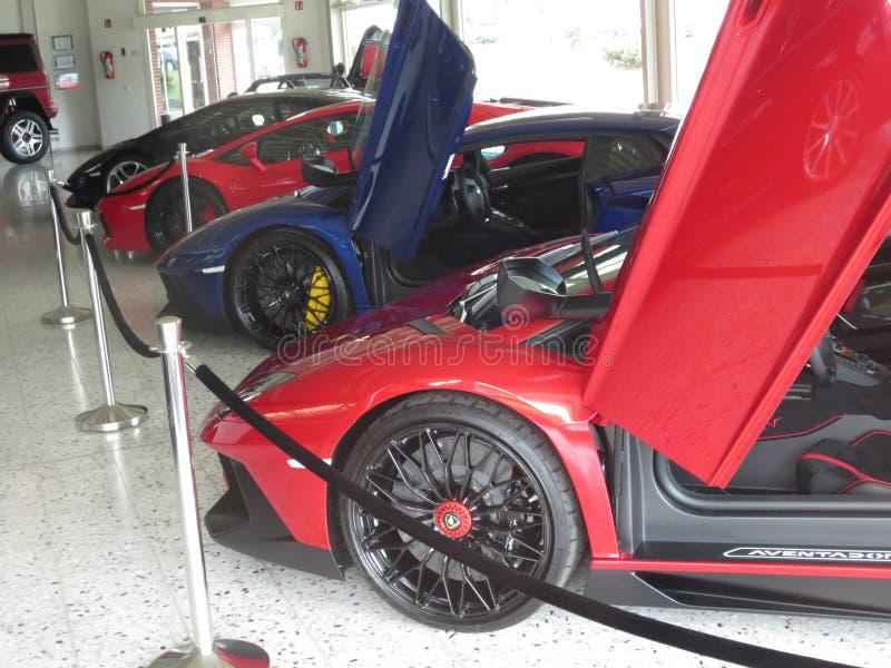 Lamborghini avendator 库存照片