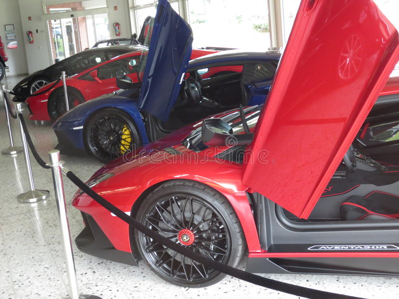 Lamborghini avendator 免版税库存图片