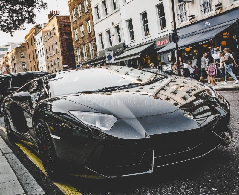 Lamborghini Aventador超级汽车 库存照片