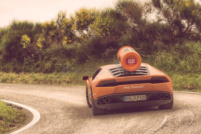 Lamborghini Aventador 免版税库存照片