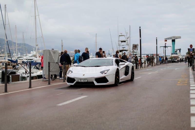 Lamborghini Aventador 库存照片