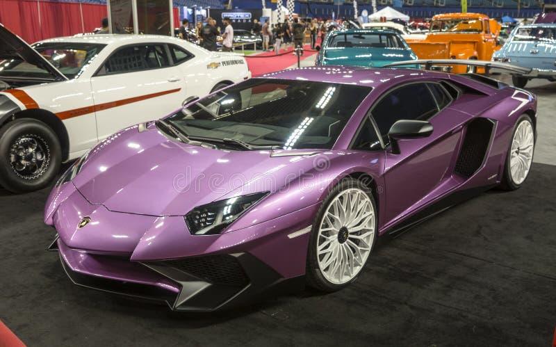 Lamborghini Aventador 免版税库存图片