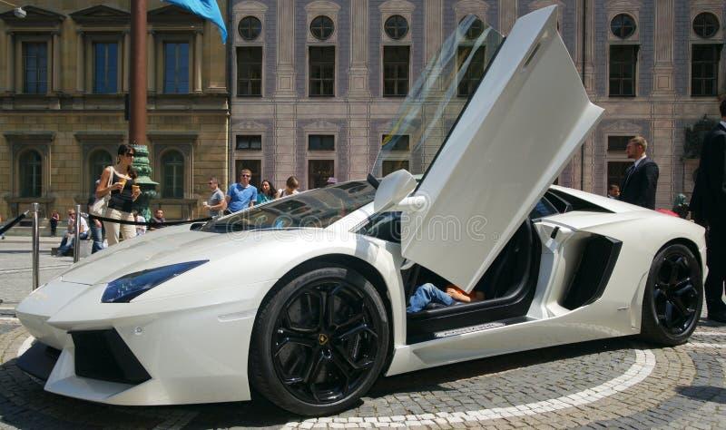 Lamborghini Aventador immagine stock