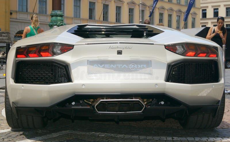 Lamborghini Aventador immagini stock libere da diritti