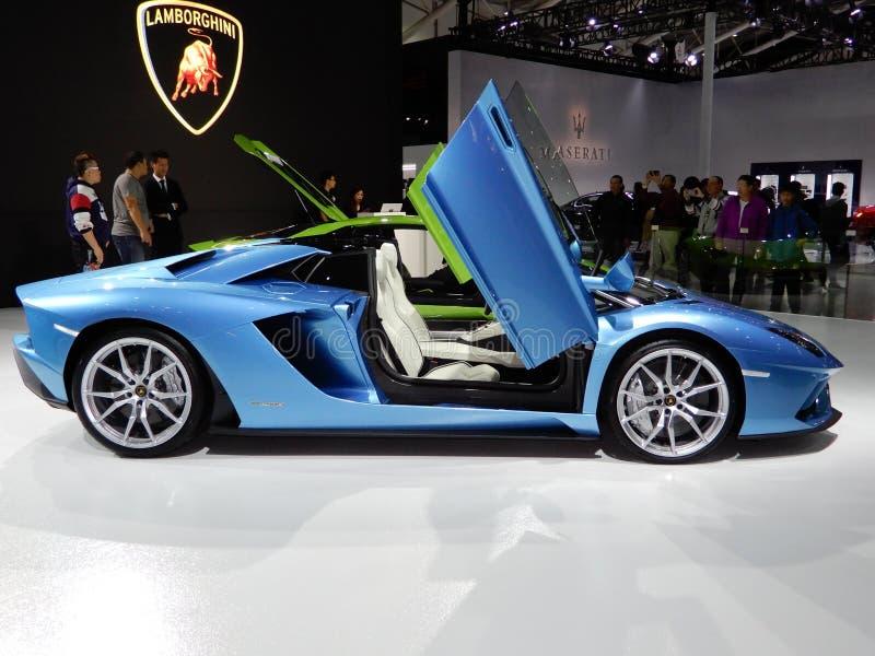 Lamborghini Aventador S terenówka zdjęcie royalty free