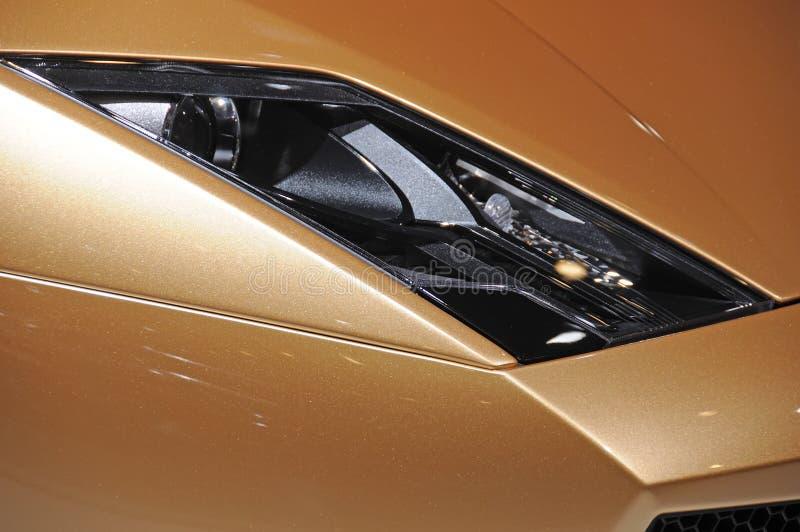 Lamborghini bilbillykta royaltyfria foton