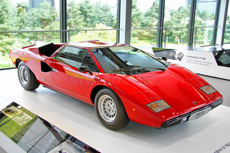 Lamborghini Countach 库存照片