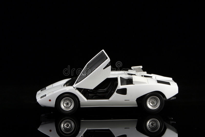 Lamborghini Countach LP400 fotografia de stock royalty free