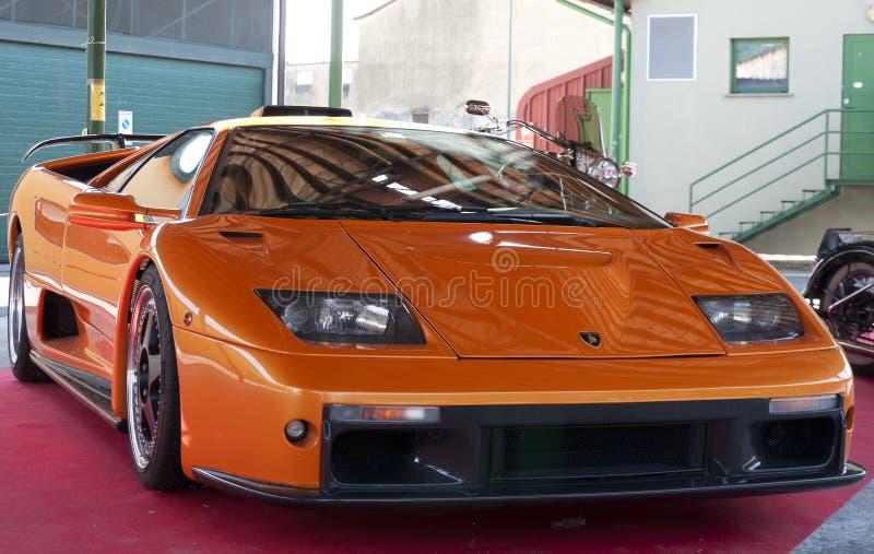 Lamborghini Diablo GT stock photos