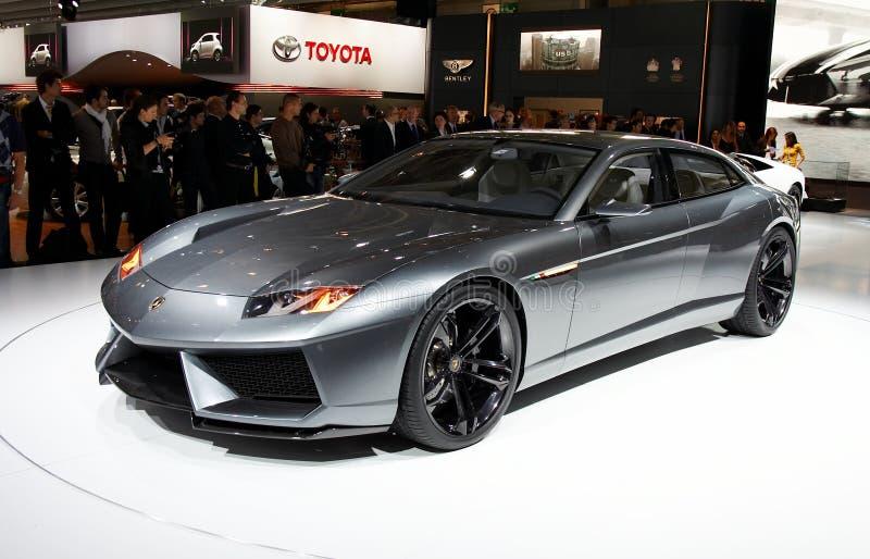 Lamborghini Estoque Concept stock image
