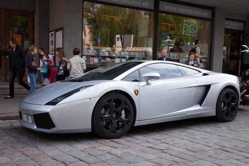 Lamborghini Gallardo 免版税库存图片