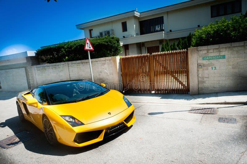 Lamborghini Gallardo 560-4 免版税库存图片