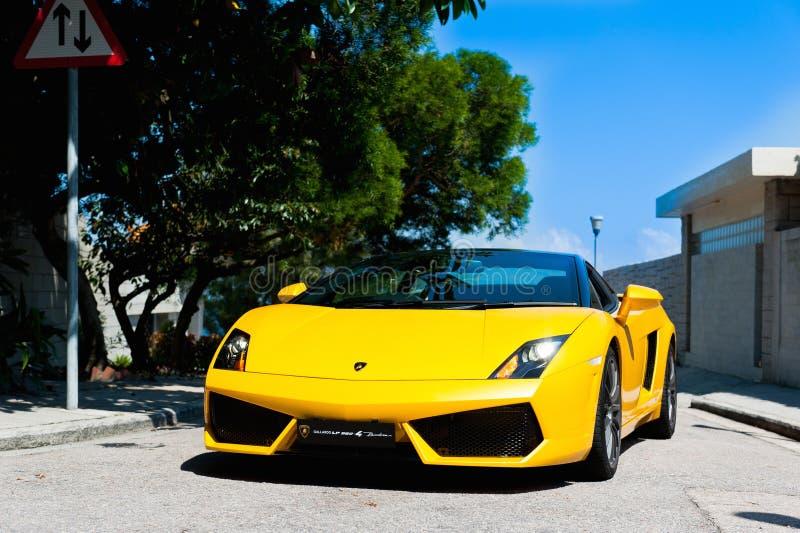 Lamborghini Gallardo 560-4 库存图片