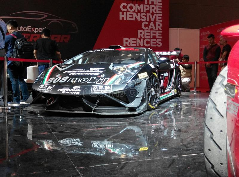 Lamborghini Gallardo GT3 images stock