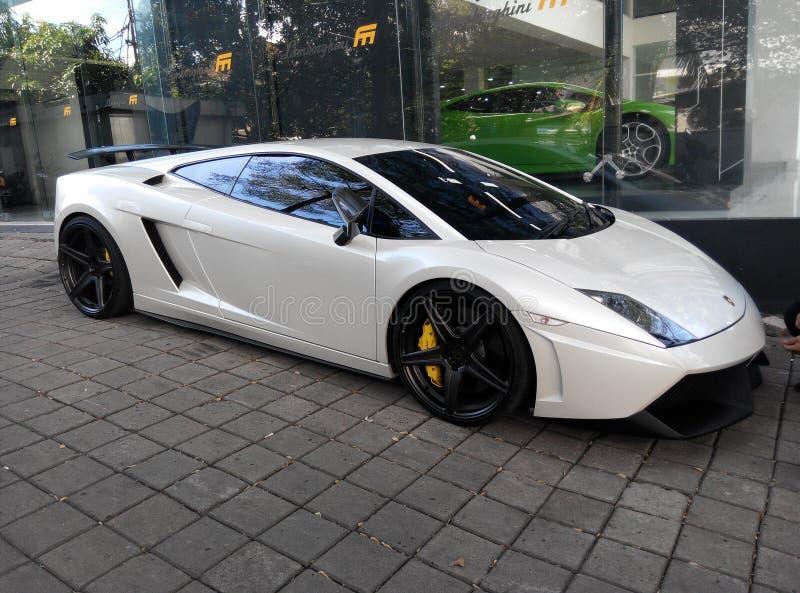 Lamborghini Gallardo LP560-4 photographie stock