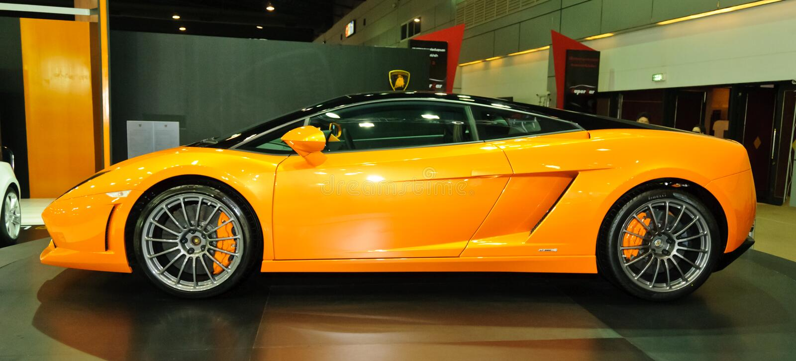 Download Lamborghini Gallardo LP560 2 Editorial Stock Image   Image Of  Expensive, Side: