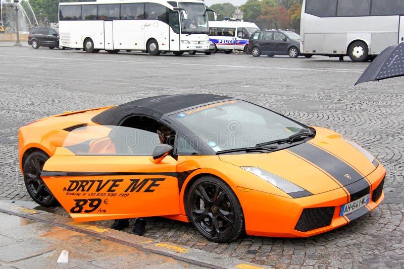 Lamborghini Gallardo Spyder zdjęcia royalty free