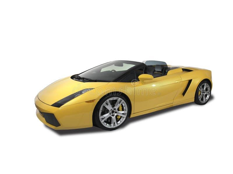Download Lamborghini Gallardo On White Background Stock Photo - Image: 12346192