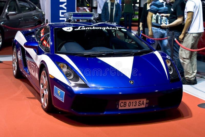 Lamborghini Galliardo - Polizia - MPU stock afbeeldingen