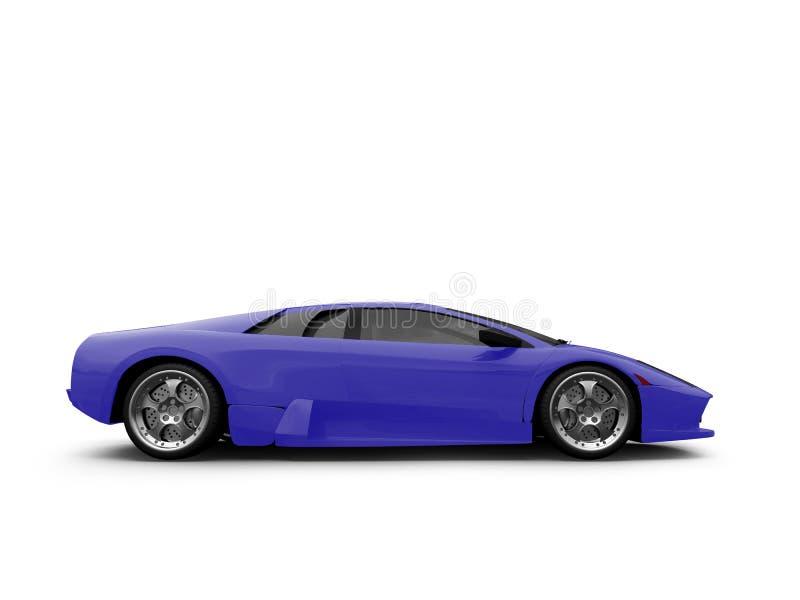 Lamborghini ha isolato l'azzurro illustrazione di stock
