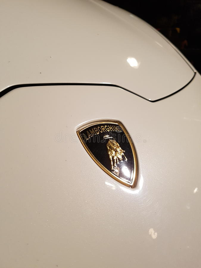 Lamborghini Huaracan στοκ φωτογραφία