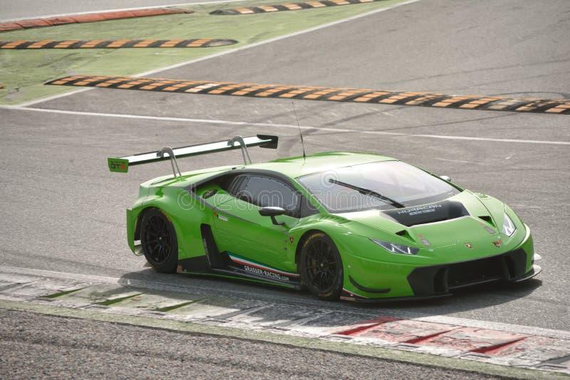 Lamborghini Huracà ¡ n GT3 2016测试在蒙扎 库存图片