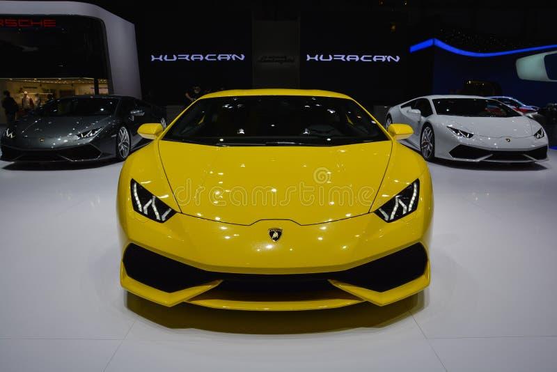 Lamborghini Huracan 免版税库存照片