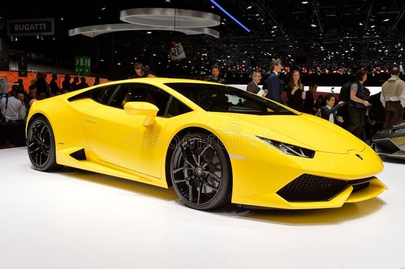 Lamborghini Huracan 库存图片