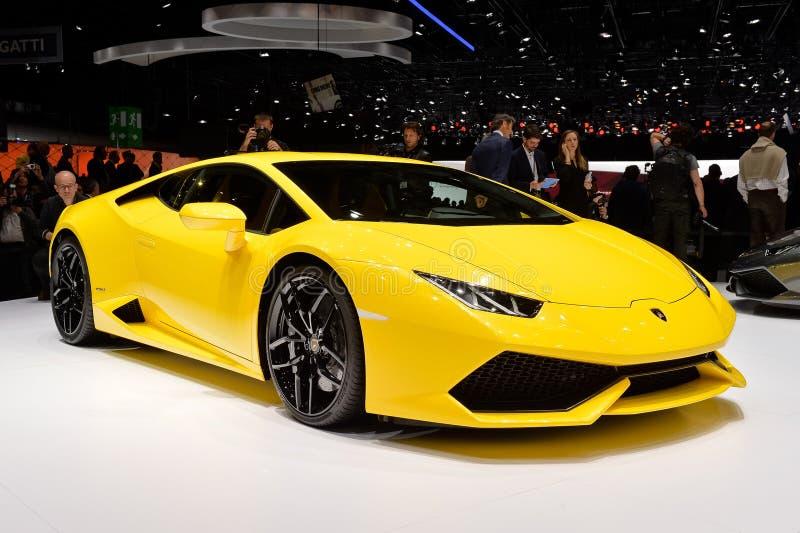 Lamborghini Huracan 免版税图库摄影
