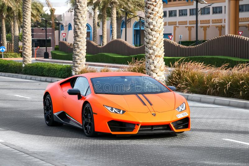 Lamborghini Huracan royalty free stock photography