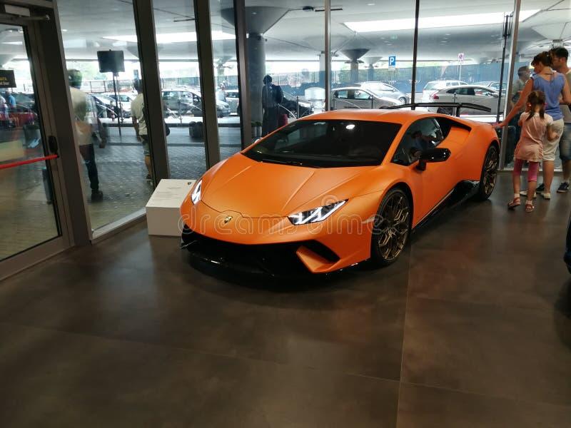 Lamborghini Huracan Performante imagem de stock royalty free