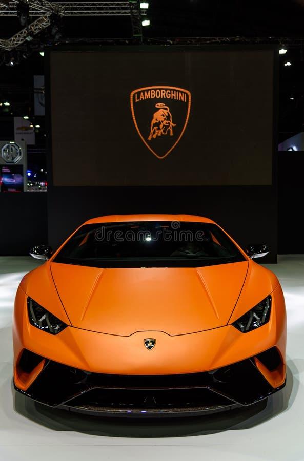 Lamborghini Huracan Performante imagem de stock