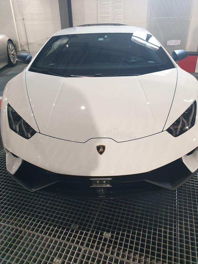 Lamborghini Huracan Performante fotografia de stock