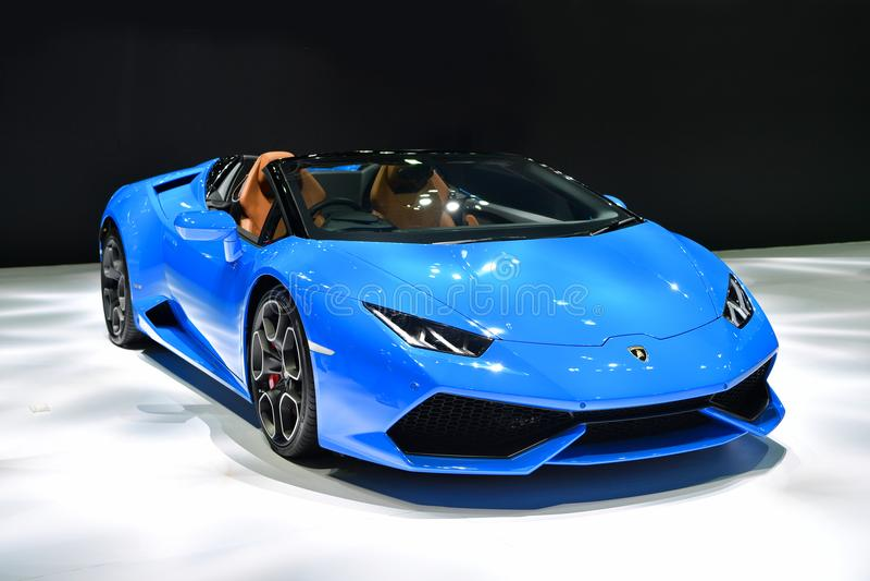 Lamborghini Huracan Spyder 库存照片