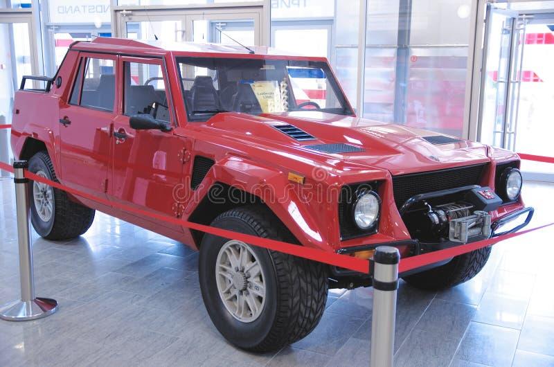 Download Lamborghini LM002 photographie éditorial. Image du vieux - 56475252