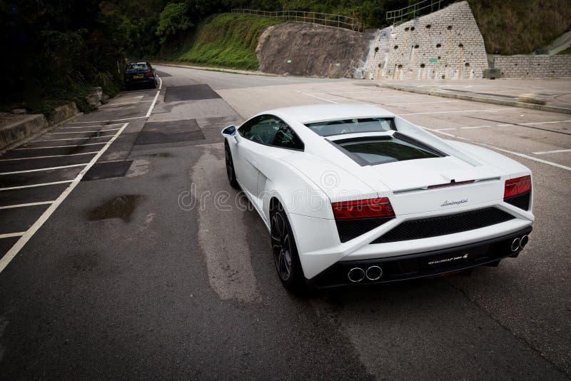 Lamborghini LP560-4超级汽车 图库摄影