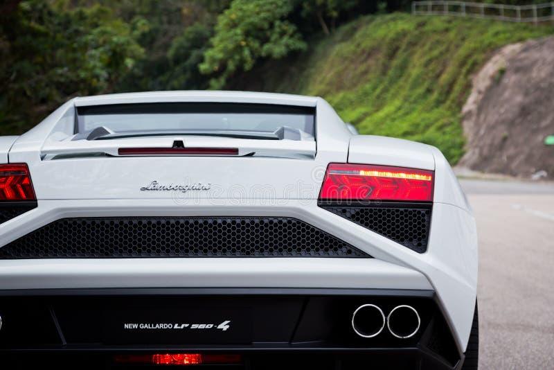 Lamborghini LP560-4超级汽车 库存照片