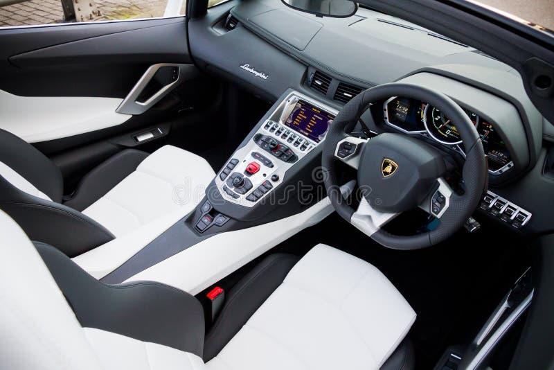 Lamborghini LP700-4 Super Car 2013 Limited Edition royalty free stock photography
